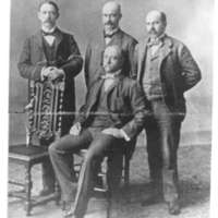 Portrait of Four Oxnard Brothers