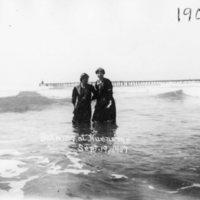 Two Women, Bathing at Hueneme
