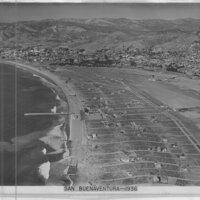 San Buenaventura, 1936 Aerial