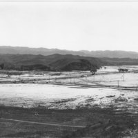 Flooded Area at Castaic Junction, 1928