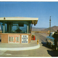 United States Naval Air Missile Test Center, Point Mugu postcard