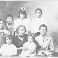 Mother and Seven Children