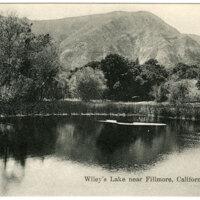Wiley's Lake near Fillmore, California