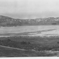 Flood Area Near Piru, 1928