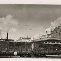 Freight Cars at Oxnard Sugar Factory