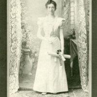 Edith Barnes graduation photo