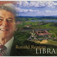 Ronald Reagan Library postcard