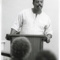 Tony Rollins Speaking at a Forum of Black Leaders at Oxnard College