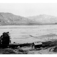 St. Francis Dam Flood Near Bardsdale