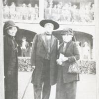 Virginia Ruiz, Charles Prudhome and Maria de Los Angeles Ruiz