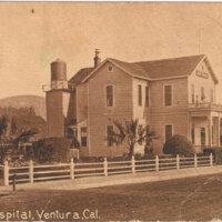County Hospital postcard