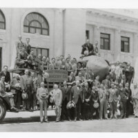 Lions Club Members Before National Lions Meet, 1929