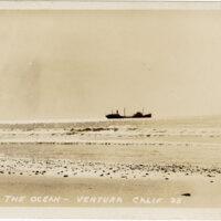 The Ocean-Ventura, Calif. Post Card