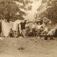 Men at Hunting Camp