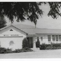 Mill School Exterior, 1969