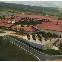 Ronald Reagan Presidential Library, Simi Valley postcard