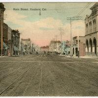 Main Street, Ventura Postcard