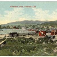Birdseye View, Ventura, Cal. Post Card