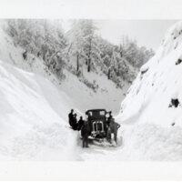 Snowy Scene on Maricopa Highway