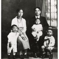 Yanaginuma Family Portrait, 1922