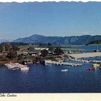 Scenic Lake Casitas postcard