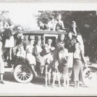 Kids in 1927 Model T