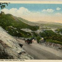 Santa Susana Pass postcard
