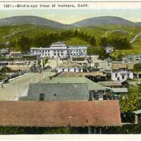 Bird's-eye View of Ventura postcard
