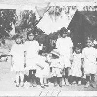 Group Portrait of Guerrero, Sanchez, and Rivas Children