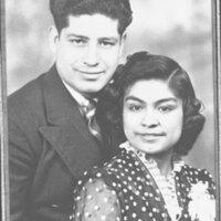Wedding Portrait, Miguel Ortiz and Delphine Garibaldi
