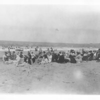 Group at Chautauqua on the Beach
