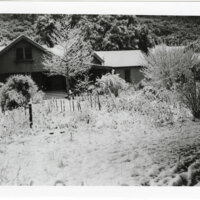 Rancho Casitas Foreman's House with Snow on Ground
