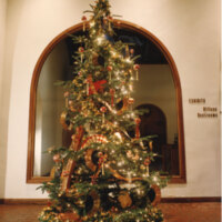 Christmas Tree in the Lobby of Ventura County Museum of History and Art