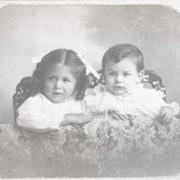 Maria Louisa Ruiz and Gordon Nidever Ruiz - Infants
