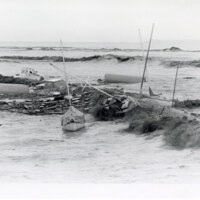 Flood Wreckage, Ventura Marina