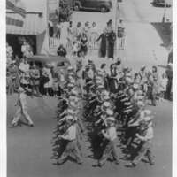 Seabees on parade