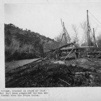 Foster Park Bridge Wreckage
