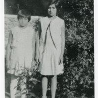 Ruby and Rosa Vanegas as Girls