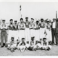 Group Photo, Ventura Police Boys' Club Softball Team