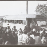 Internees Depart Gila River Relocation Center