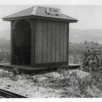 Railroad Shelter for Passengers