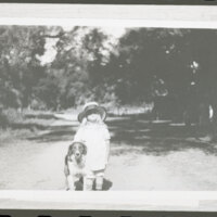 Katherine Louise Hoffman With Dog at Rancho Casitas