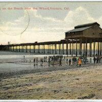 Ventura Wharf Postcard