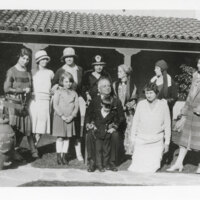 Group Photo of Several Women, Juan Camarillo, and Two Children