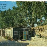 The Bottle Village postcard