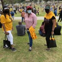 The CIC-LINKS at NAACP Rally