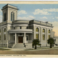 Methodist Church, Oxnard postcard