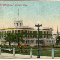 Hotel Oxnard postcard