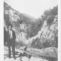 Arnulfo Sanchez in Sespe Canyon