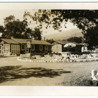 Valley Outpost Lodge, Ojai postcard